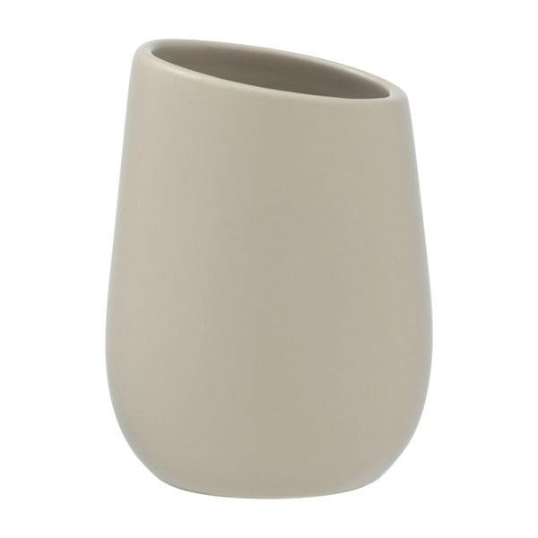 Suport ceramică pentru periuțe de dinți Wenko Badi, bej