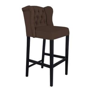 Hnědá barová židle Mazzini Sofas Roco