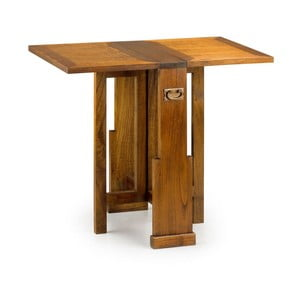 Skládací stolek ze dřeva mindi Moycor Star, 90x50cm