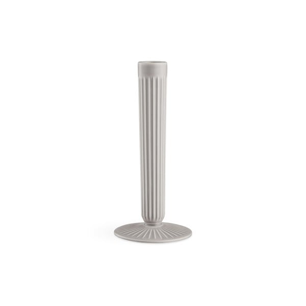Hammershoi világos szürke agyagkerámia gyertyatartó, magasság 20 cm - Kähler Design