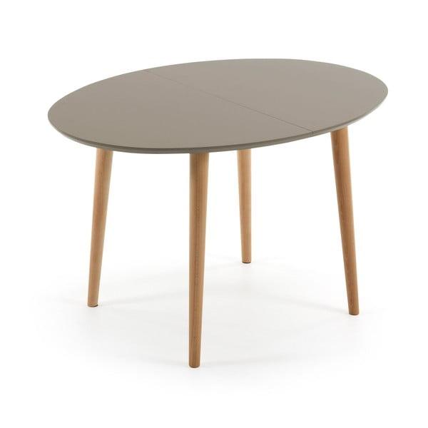 Rozkládací jídelní stůl z bukového dřeva La Forma Oakland, délka120-200cm