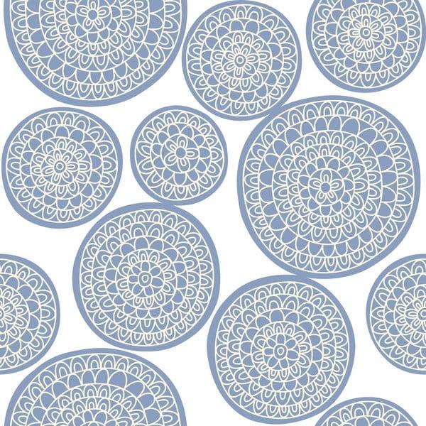 Povlečení Circle Azul, 200x200 cm