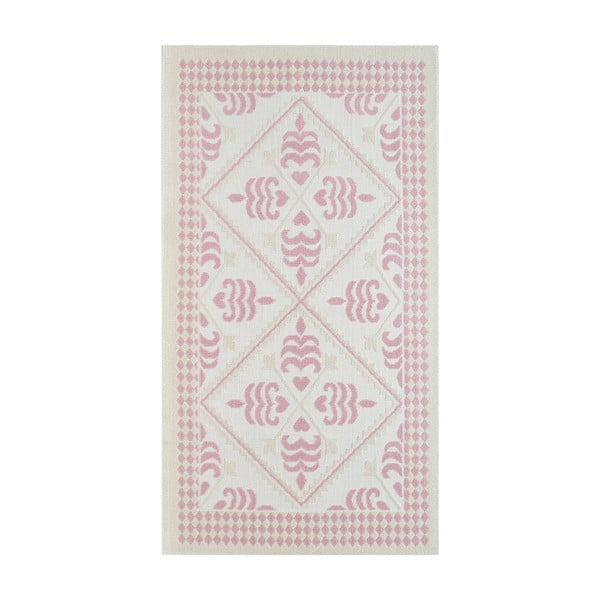 Pudrově růžový odolný koberec Vitaus Lulu, 120x180cm