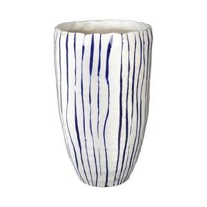Váza Blue Stripe