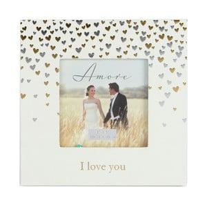 Rámeček na fotografii Amore Little Hearts, profotografii10x10cm