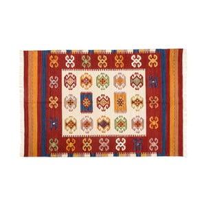 Ručně tkaný koberec Kilim Dalush 007, 90x60 cm