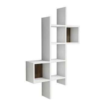 Raft de perete Keno, alb de la Puqa Design