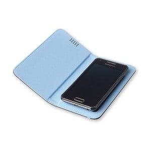 Modré pouzdro na telefon Moleskine Book, velký
