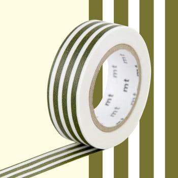 Bandă decorativă Washi MT Masking Tape Florine, rolă 10 m imagine