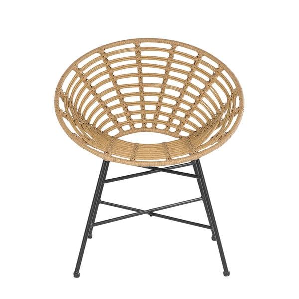 Male mesterséges rattan kerti fotel - Monobeli
