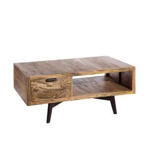 Dřevěný odkládací stolek Denzzo Acubens