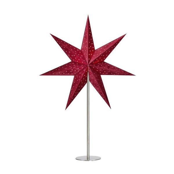 Decorațiune luminoasă Markslöjd Velours, înălțime 65 cm, roșu