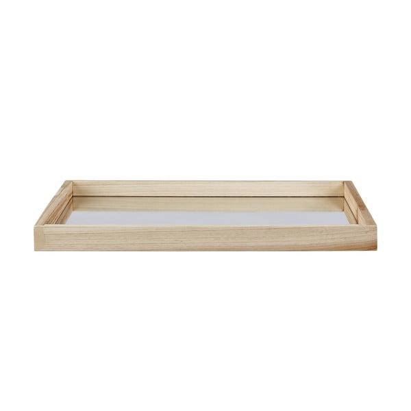 Dřevěný podnos Natal, 30x40 cm
