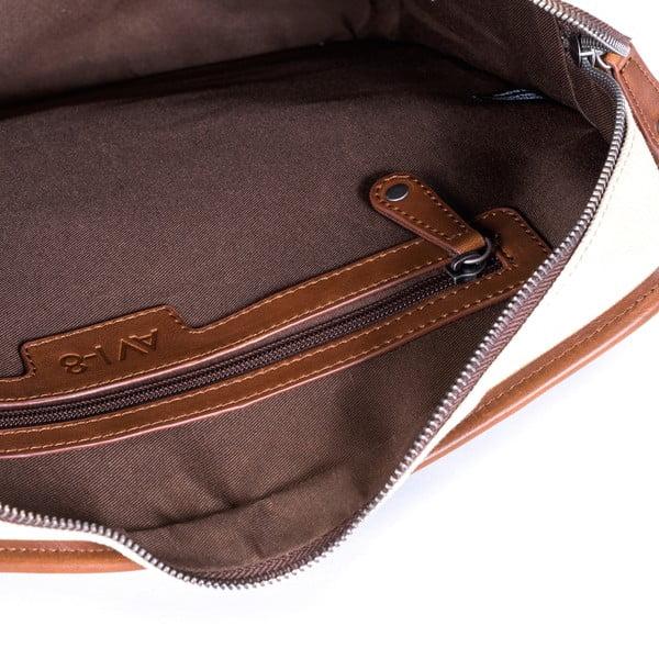 Taška na notebook Avi-8, krémová