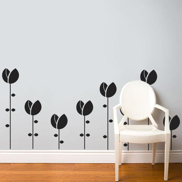 Samolepka Tulipánový sad, 70x50 cm