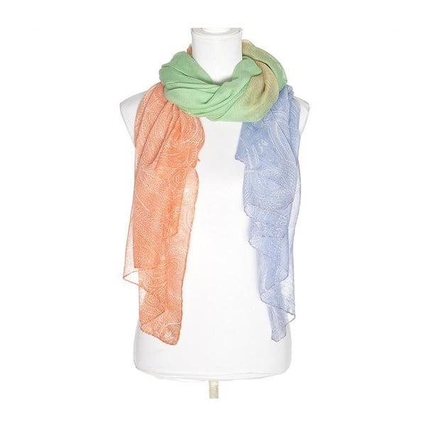 Šátek BLE Inart 90x180 cm, barevný