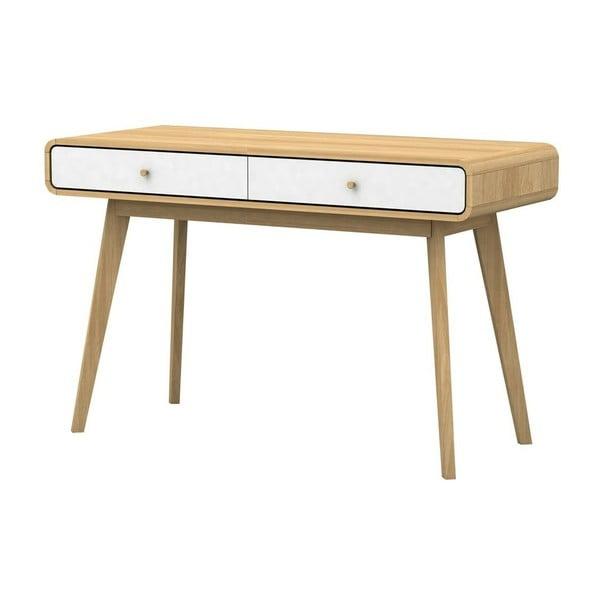 Bílohnědý psací stůl Støraa Cleo