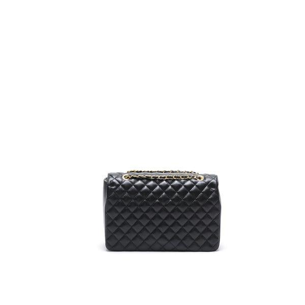 Černá kožená kabelka Isabella Rhea Julietta