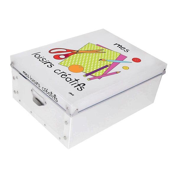 Krabice na výtvarné potřeby Incidence Mes Loisirs Créatifs
