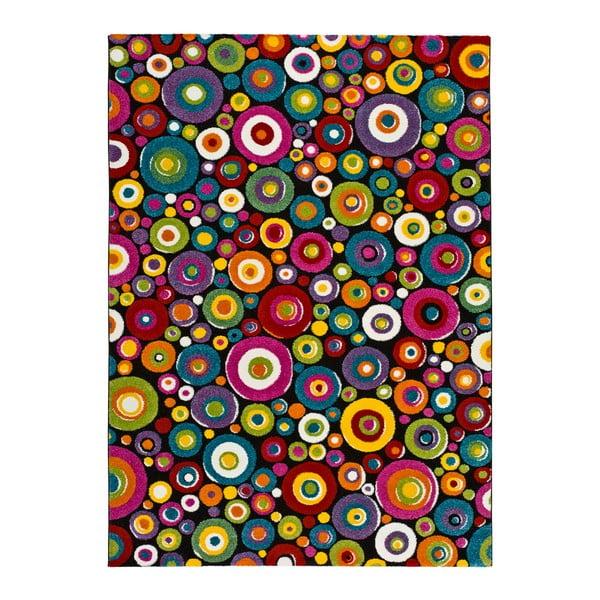 Covor adecvat și pentru exterior Universal Happy Mulo, 80 x 150 cm, multicolor