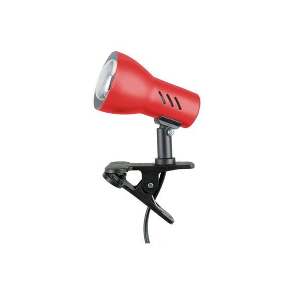 Stolní lampa na klips Cspot Red