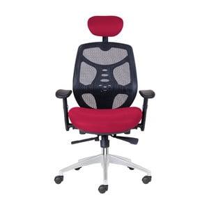 Kancelářské křeslo Norton XL, tmavě červené