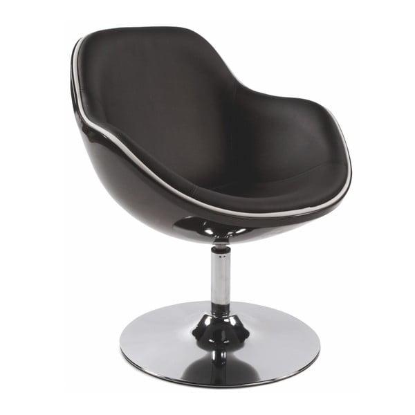 Czarny fotel obrotowy Kokoon Daytona