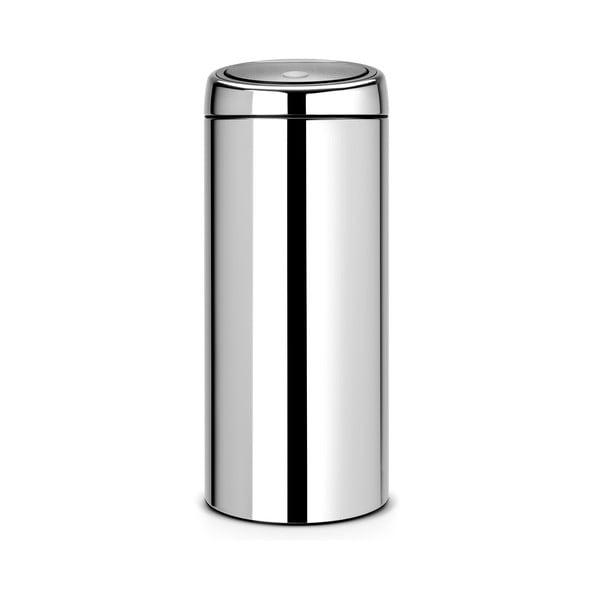 Dotykový odpadkový koš Touch Bin, 30 l, lesklá ocel
