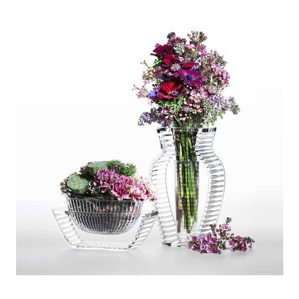Transparentní váza Kartell I Shine