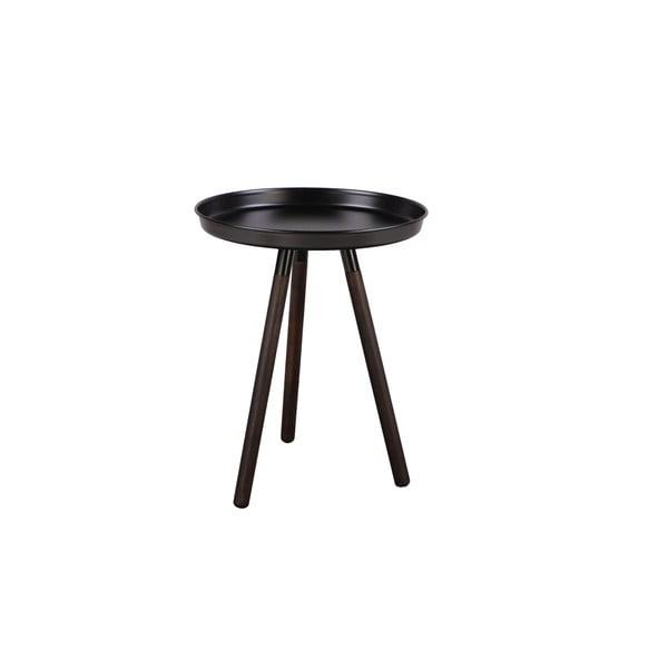 Černý odkládací stolek Nørdifra Sticks, výška52,5cm