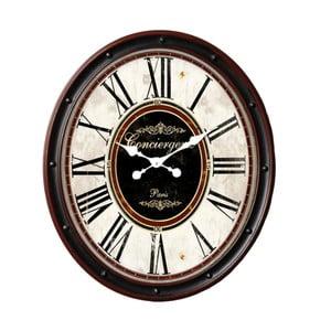 Nástěnné hodiny Antic Line Valisette Verre
