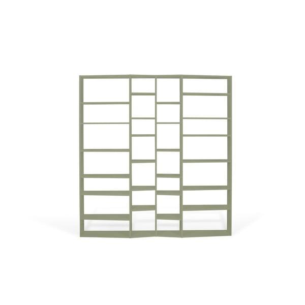 Valsa szürke könyvespolc, 224 x 214 cm - TemaHome