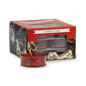 Sada 12 čajových svíček Goose Creek Mrkvový dort