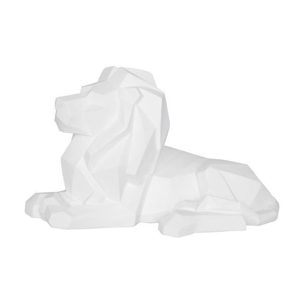 Matně bílá soška PT LIVING Origami Lion