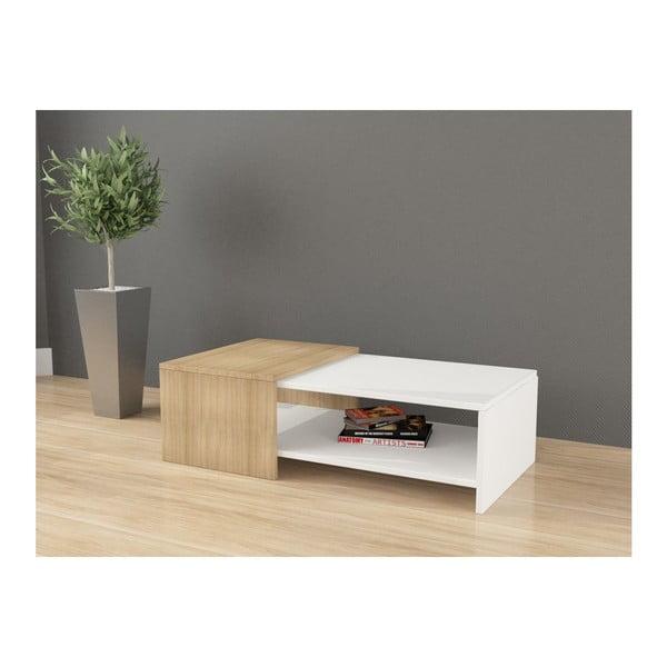 Konferenční stolek Yalo, bílý