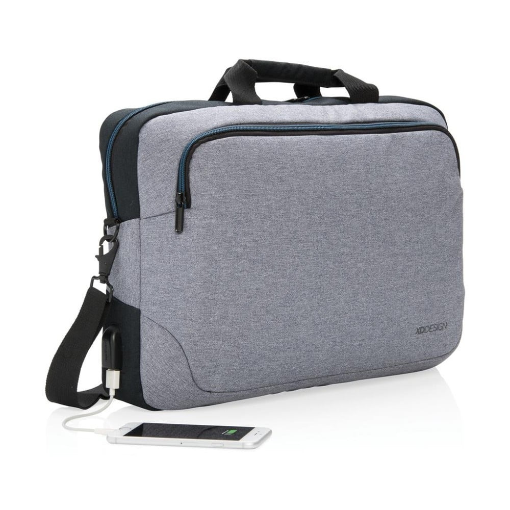 Šedá taška XD Design Arata 55151e28fea