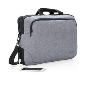 Šedá taška XD Design Arata
