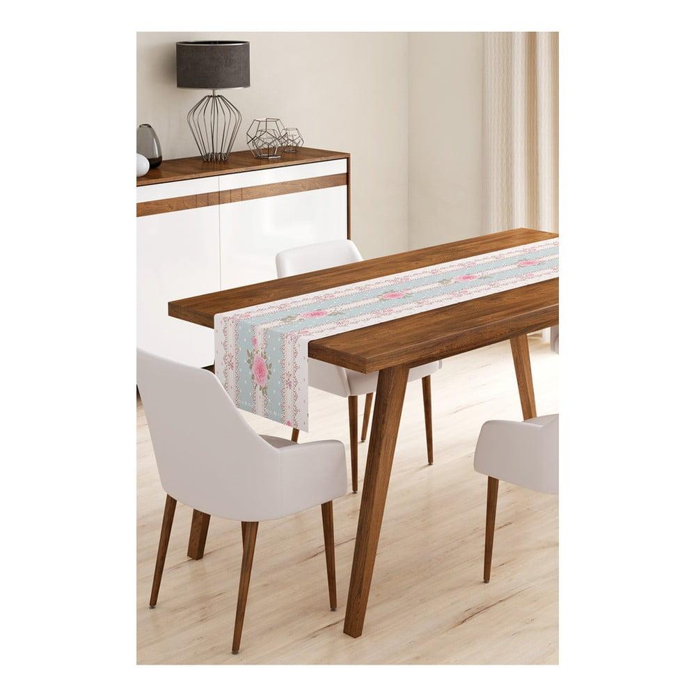 Produktové foto Běhoun na stůl z mikrovlákna Minimalist Cushion Covers Romantic, 45x145cm