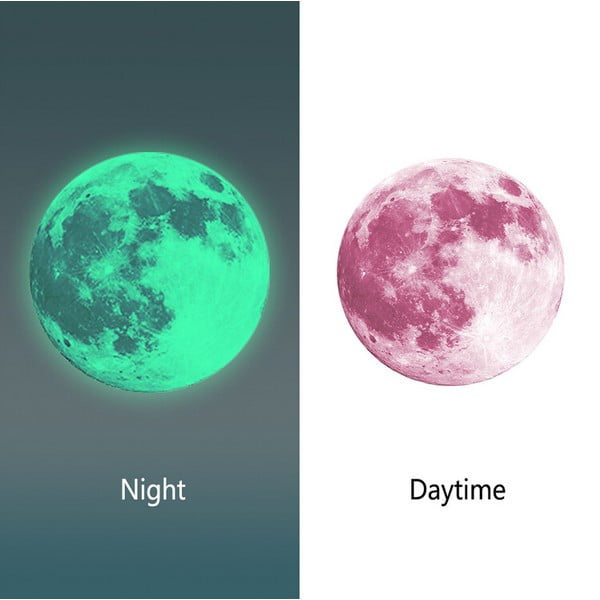Samolepka svítící ve tmě MaDéco Moon