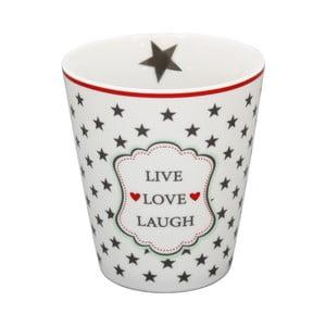 Hrnek Krasilnikoff Live Love Laugh