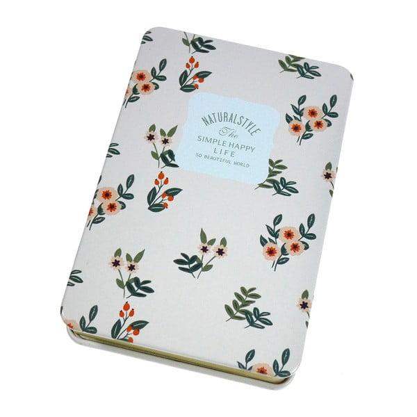 Plechový zápisník Sooth, růžový
