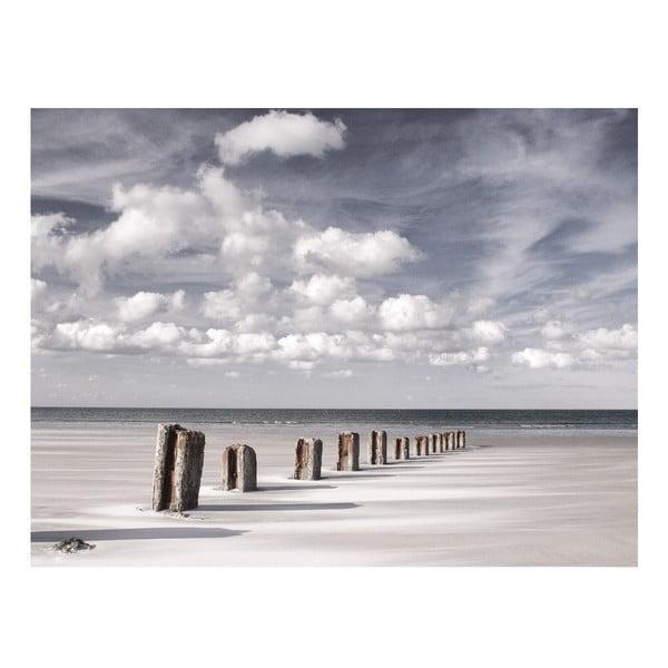 Skleněný obraz Steps into the Sea 60x80 cm