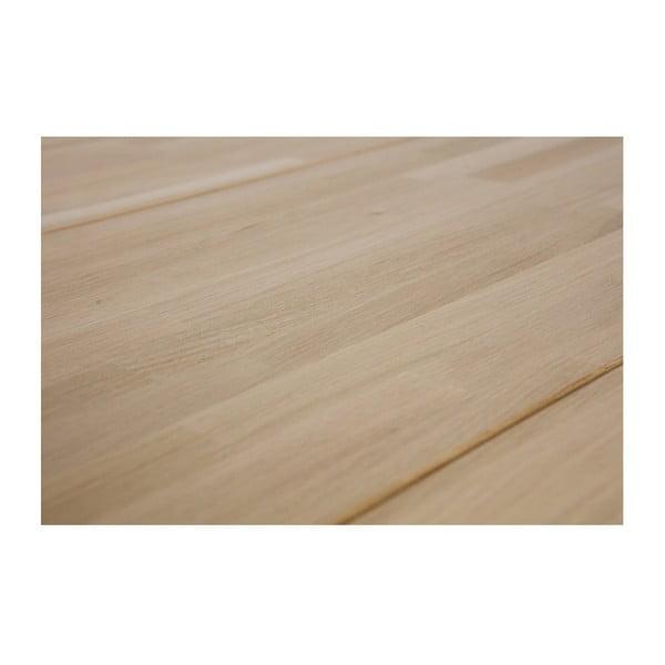 Jídelní stůl z dubového dřeva WOOOD Disc, Ø120cm