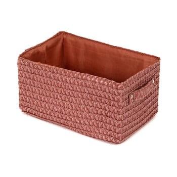 Coșuleț de depozitare Compactor Lilou Terracotta, roșu