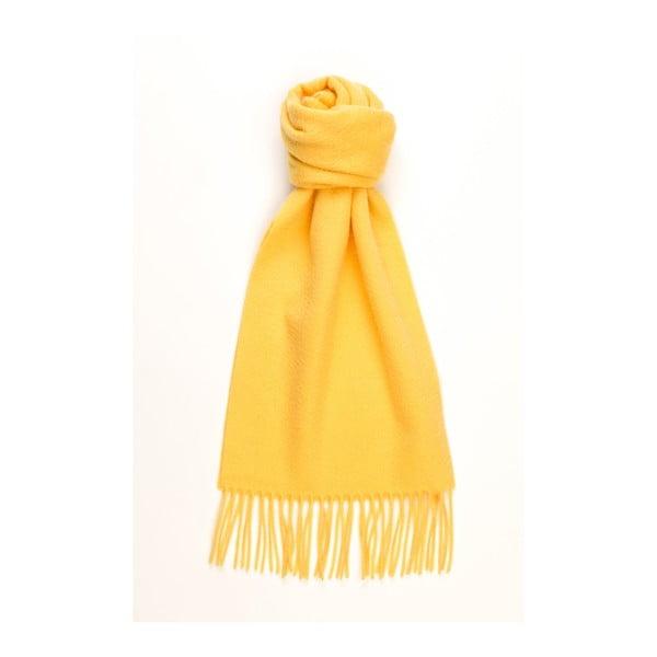 Žlutá kašmírová šála Hogarth 66efd02330