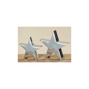 Sada 2 dekorativních objektů Star