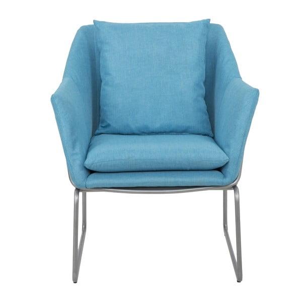 Modré křeslo Mauro Ferretti Confort