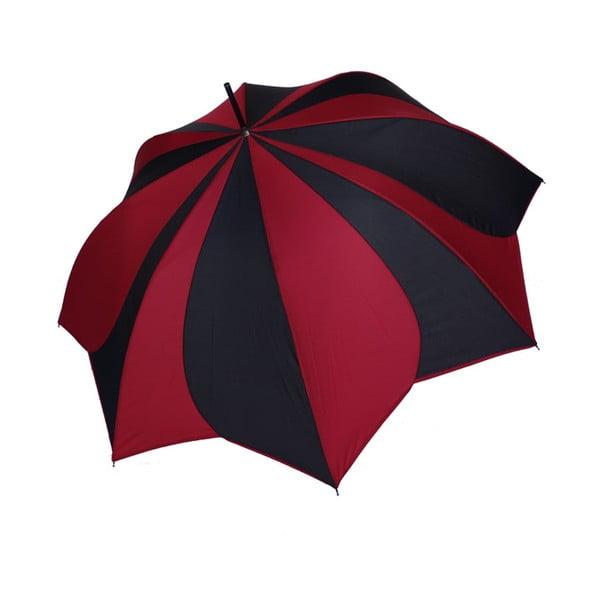 Deštník Pierre Cardin  Red Noir, 93 cm