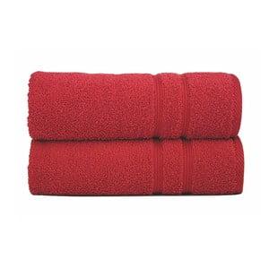 Osuška Sorema Basic Red, 30x50 cm