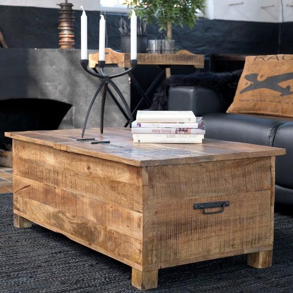 Konferenční stolek/úložná truhla Factory Box